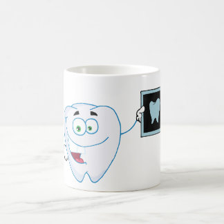 Happy White Tooth Mug