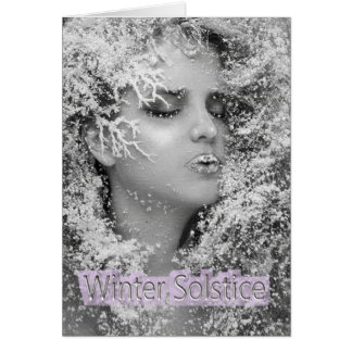 Happy Winter Solstice! Card