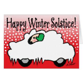 Happy Winter Solstice! Card