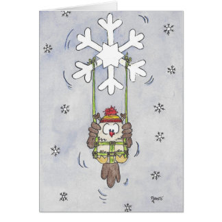 HAPPY WINTERDAYS greeting card by Nicole Janes