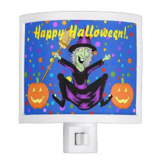 Happy Witch Halloween Night Light
