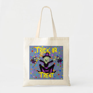 Happy Witch Halloween Tote Bag