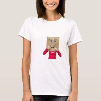 Happy woman with thumbs up T-Shirt