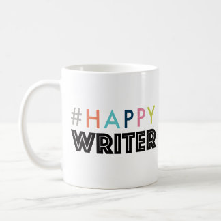 Happy Writer coffee mug