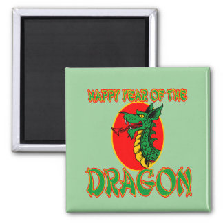 Happy Year of the Dragon T-shirts, Mugs, Bags Square Magnet