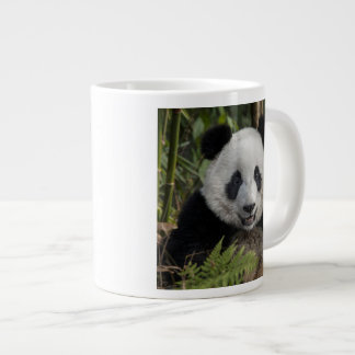 Happy young panda, China Large Coffee Mug