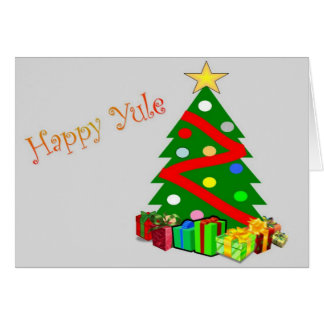 Happy Yule Card