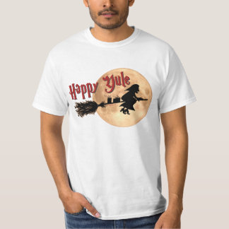 Happy Yule Witch Xmas t-shirts