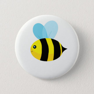 HappyBee Collection 2 Inch Round Button