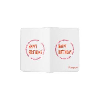 HAPPYbirthday Happy BIRTHDAY circle round emblem