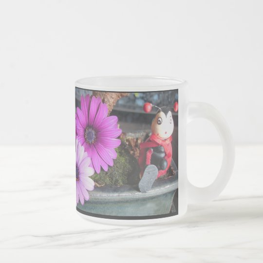 HappyMother'sDay Frosted Glass Coffee Mug
