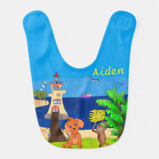Happy's Lighthouse by The Happy Juul Company Bib