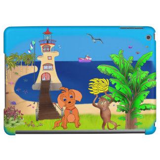 Happy's Lighthouse by The Happy Juul Company Cover For iPad Air