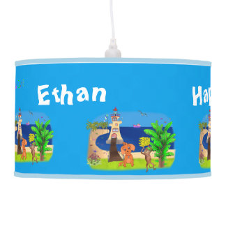 Happy's Lighthouse by The Happy Juul Company Hanging Lamp