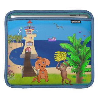 Happy's Lighthouse by The Happy Juul Company iPad Sleeve