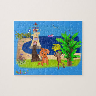 Happy's Lighthouse by The Happy Juul Company Jigsaw Puzzle