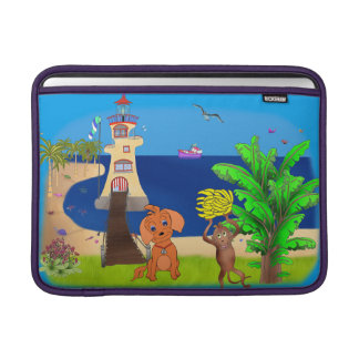 Happy's Lighthouse by The Happy Juul Company MacBook Sleeve