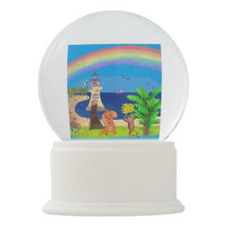 Happy's Lighthouse by The Happy Juul Company Snow Globe