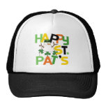 HAPPYSNOWMANPATSDAY MESH HATS