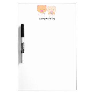 HappyWedding Dry Erase Board