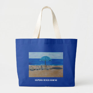 HAPUNA BEACH HAWAII LARGE TOTE BAG