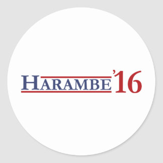 Harambe 16 round sticker