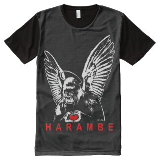 Harambe All-Over-Print T-Shirt