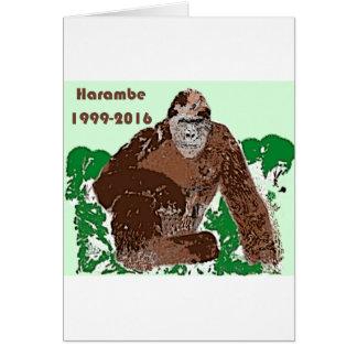 Harambe Card