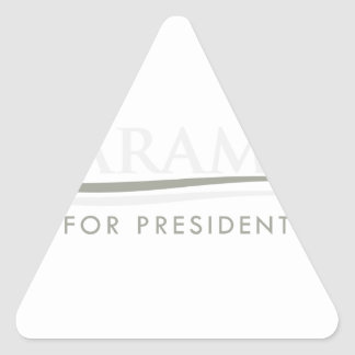 Harambe For President Triangle Sticker