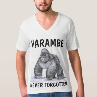HARAMBE GORILLA T-shirts