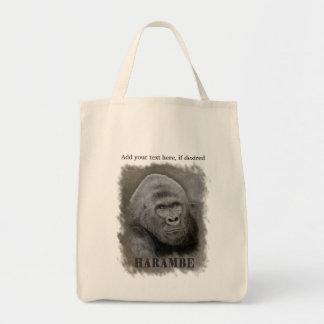 Harambe (Graphite Drawing) Tote Bag