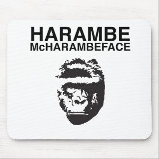 Harambe McHarambeface Mouse Pad