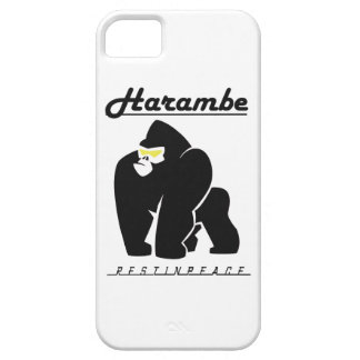 HARAMBE REST IN PEACE T-SHIRT iPhone 5 COVERS