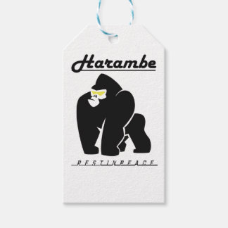 HARAMBE REST IN PEACE T-SHIRT PACK OF GIFT TAGS