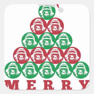 Harambe Tree Square Sticker