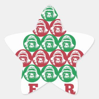 Harambe Tree Star Sticker