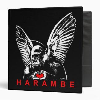 Harambe Vinyl Binders