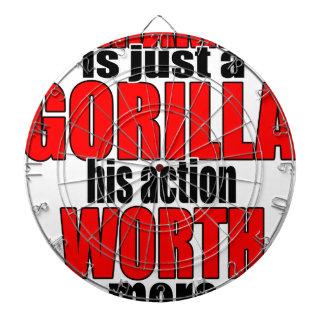 harambe worth gorilla legend harambeisjustagorilla dartboard