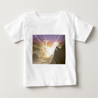 Harbinger of Light - Sunrise Rooster Baby T-Shirt