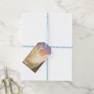 Harbinger of Light - Sunrise Rooster Gift Tags