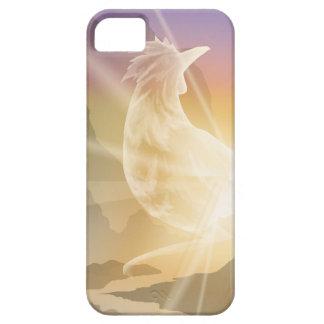 Harbinger of Light - Sunrise Rooster iPhone 5 Cases