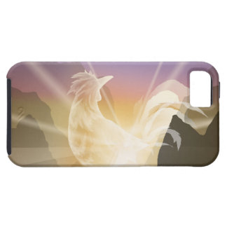 Harbinger of Light - Sunrise Rooster iPhone 5 Covers