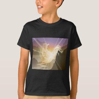 Harbinger of Light - Sunrise Rooster T-Shirt