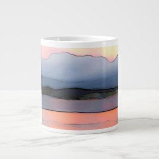 Harbor Abstraction Mug