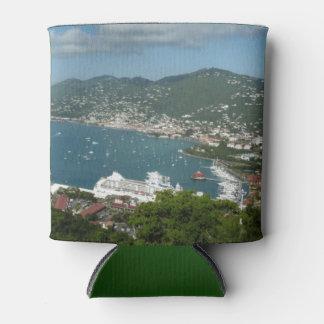 Harbor at St. Thomas US Virgin Islands Can Cooler
