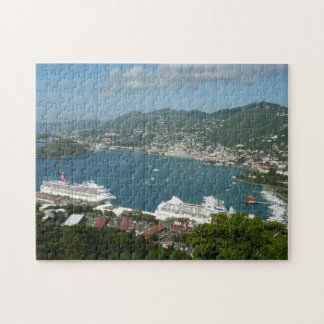 Harbor at St. Thomas US Virgin Islands Jigsaw Puzzle