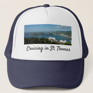Harbor at St. Thomas US Virgin Islands Trucker Hat