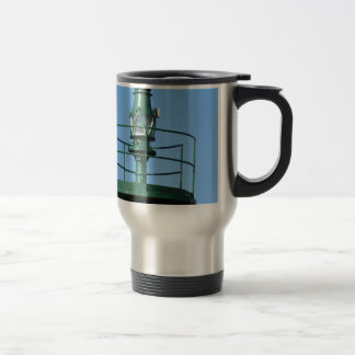 Harbor lighthouse travel mug