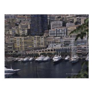 Harbor, Monte Carlo, French Riviera, Cote d' Postcard