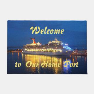 Harbor Reflections Homeport Doormat